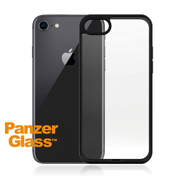 PanzerGlass ClearCase iPhone SE Black Edition