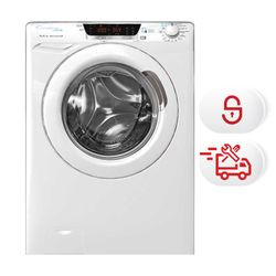 Candy HCUD 129TWH5/1-S Πλυντήριο Ρούχων & Υπηρεσία 5ετούς τεχνικής υποστήριξης & Υπηρεσία Σύνδεσης