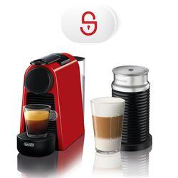 Delonghi EN85.RAE Essenza Mini Ruby Red & Aeroccino & Υπηρεσία 3ετούς τεχνικής υποστήριξης