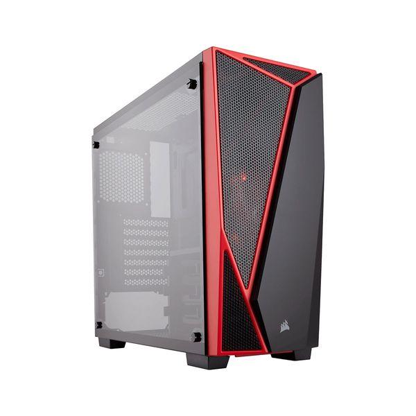 Corsair Carbide Spec-04 TG Black/Red