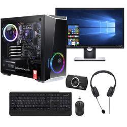 "Infinity Gear Core R2 PC & Dell 24"" Monitor & Advent Webcam & Ασύρματο Πληκτρολόγιο & Ποντίκι & Ακουστικά Headset"