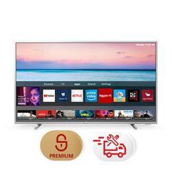 "Philips 43PUS6554 43"" Smart 4K TV & Υπηρεσία 5ετούς προνομιακής τεχνικής υποστήριξης & Συντονισμός"
