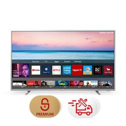"Philips 50PUS6554 50"" Smart 4K TV & Υπηρεσία 5ετούς προνομιακής τεχνικής υποστήριξης & Συντονισμός"