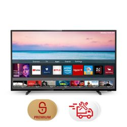 "Philips 58PUS6504 58"" Smart 4K TV & Υπηρεσία 5ετούς προνομιακής τεχνικής υποστήριξης & Συντονισμός"