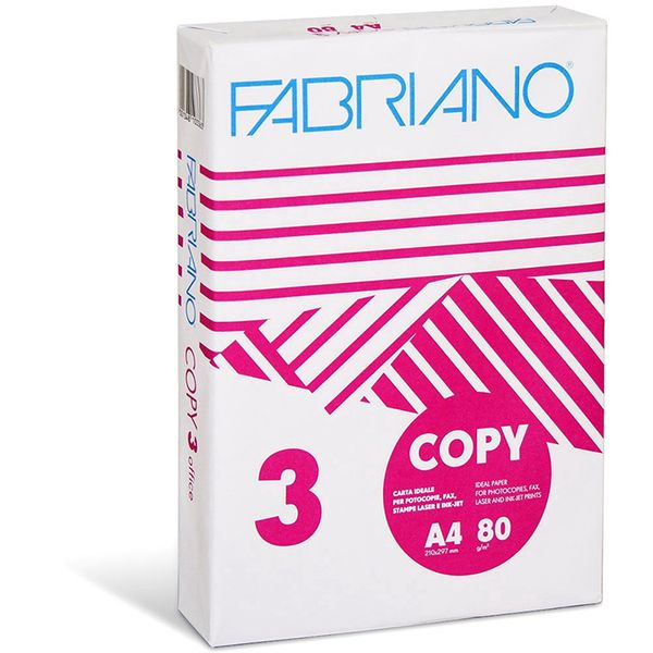 Fabriano Copy 3 Office Σετ 240 Τεμαχίων 80gr A4