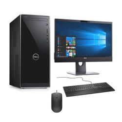 "Dell Inspiron 3671 PC & Video Conference Monitor 24"" & Dell Ενσύρματο Πληκτρολόγιο & Ποντίκι"