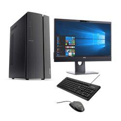 "Lenovo IdeaCentre 510A PC & Dell Video Conference Monitor 24"" & Advent Ενσύρματο Πληκτρολόγιο & Ποντίκι"