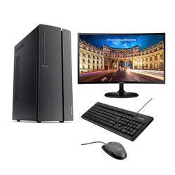 "Lenovo IdeaCentre 510A-15ARR PC & Samsung 27"" Curved Monitor & Advent Ενσύρματο Πληκτρολόγιο & Ποντίκι"