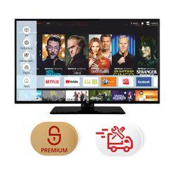 """F&U FL2D5507UH 55"""" Smart 4K TV & Υπηρεσία 5ετούς προνομιακής τεχνικής υποστήριξης & Συντονισμός"""