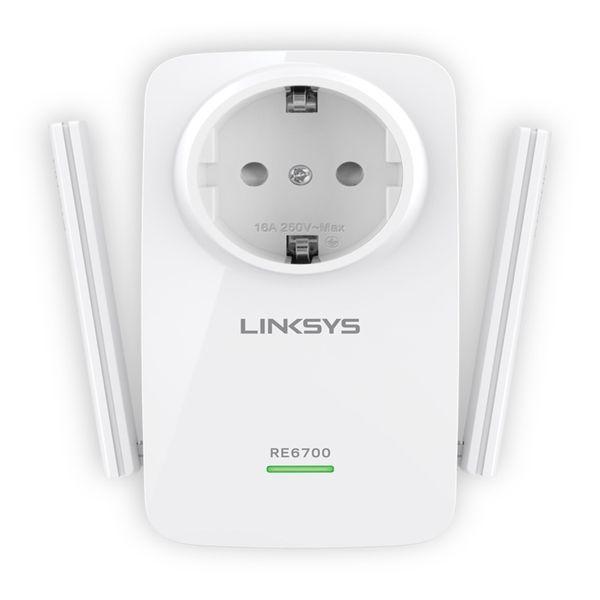 Linksys Dualband RE6700 AC1200 Plugin Audio