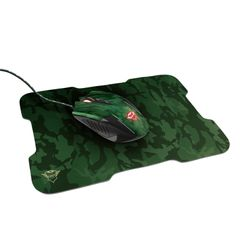 Trust GXT781 Rixa Camo Mouse & Mousepad Gaming Combo