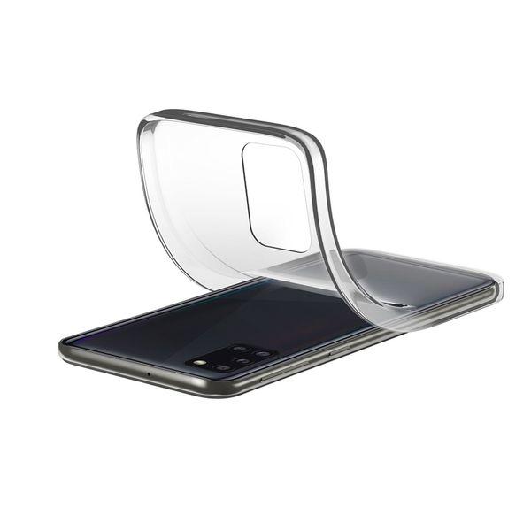 Cellular Line Rubber Soft Cover Transparent για Samsung Galaxy A31