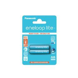 Panasonic Eneloop Lite ΑΑΑ ΒΚ-4LCEE/2BE (2 Τμχ)