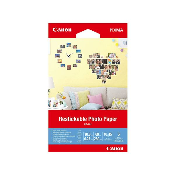 Canon Removable Photo Stickers RP-101 4x6