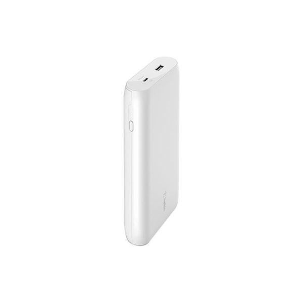 Belkin USB-C 20K + USB-C Cable White