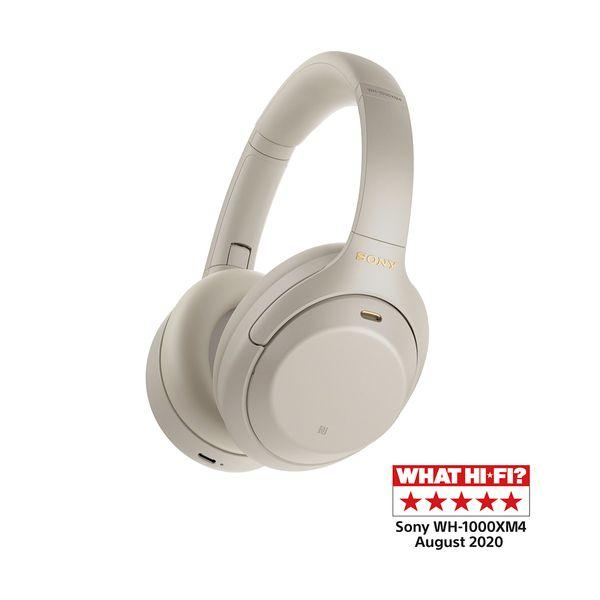 Sony WH-1000XM4 Silver Bluetooth