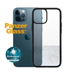 PanzerGlass iPhone 12 Pro Max Clear Case Transparent Black Edition