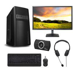 "Infinity Gear Core 1 PC & LG 22"" Monitor & Advent Webcam & Ασύρματο Πληκτρολόγιο & Ποντίκι & Ακουστικά Headset"