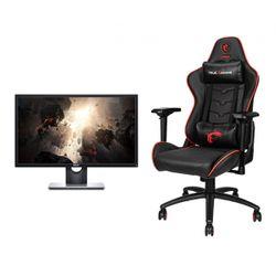"MSI MAG CH120 X Gaming Καρέκλα & Dell SE2417HGX 24"" 75Hz 1ms Monitor"