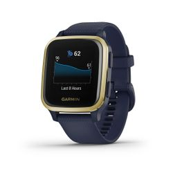 Garmin Venu Sq Music Navy Gold