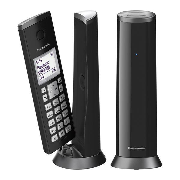 Panasonic KX-TGK212GRB DUO Black