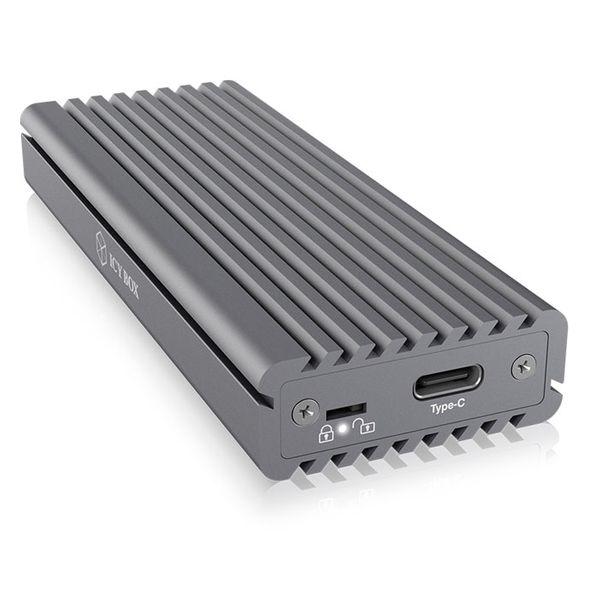 Icy Box M.2 NVMe SSD USB 3.1 Type-C