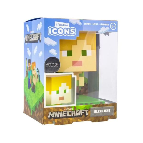 Paladone Minecraft Alex Icon Light