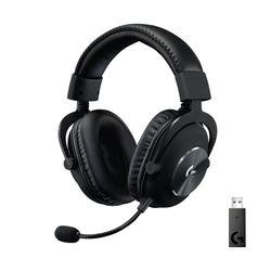 Logitech G PRO X - Lightspeed Wireless with BLUE VO!CE- Black