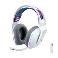 Logitech G733 Lightspeed Wireless Lightsync RGB with BLUE VO!CE White
