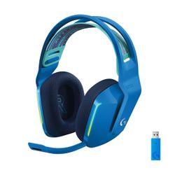 Logitech G733 Lightspeed Wireless Lightsync RGB with BLUE VO!CE Blue