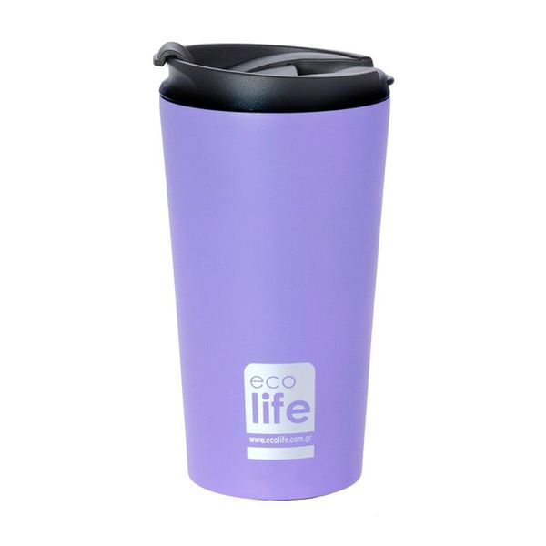 Ecolife Coffee Thermos Lilac