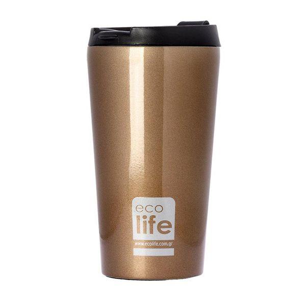 Ecolife Coffee Thermos Bronze