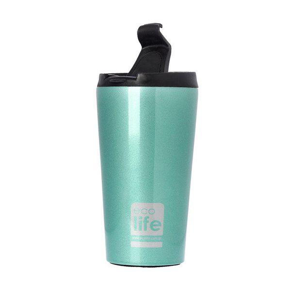 Ecolife Coffee Thermos Light Blue