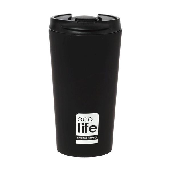Ecolife Coffee Thermos Black Matt