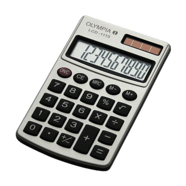 Olympia LCD-110 Τσέπης Silver