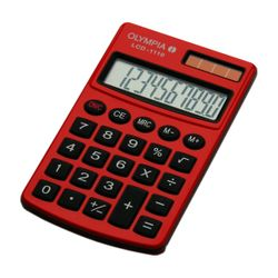 Olympia LCD-1110 Τσέπης Red