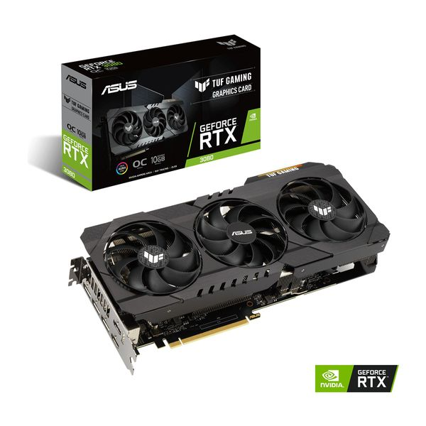 Asus TUF GeForce RTX 3080 OC Edition