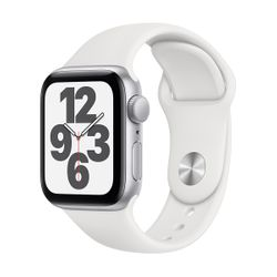 Apple Watch SE 40mm Sportband Silver