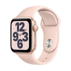 Apple Watch SE 40mm Sportband Gold Pink