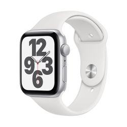 Apple Watch SE 44mm Sportband Silver
