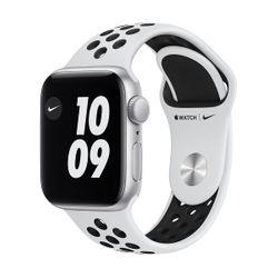 Apple Watch SE Nike+ 40mm Sportband Silver