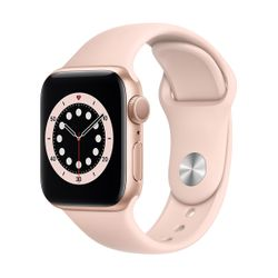 Apple Watch Series 6 40mm Gold Pink Sportband