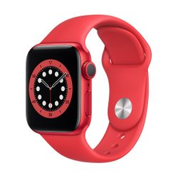 Apple Watch Series 6 40mm Product(Red) Red Sportband