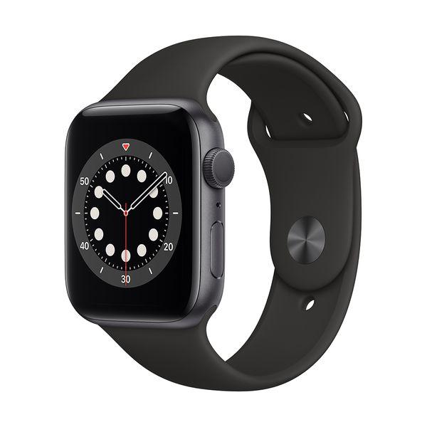 Apple Watch Series 6 44mm Space Grey Black Sportband