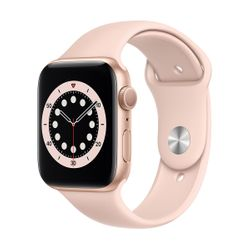 Apple Watch Series 6 44mm Gold Pink Sportband