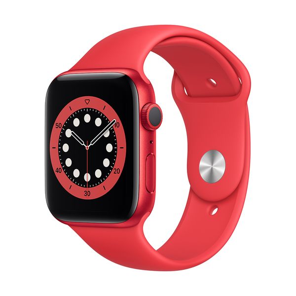 Apple Watch Series 6 44mm Red Product(Red) Red Sportband