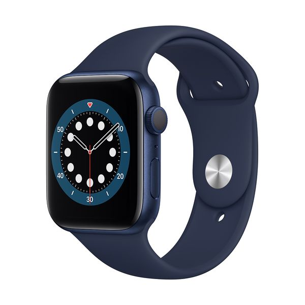 Apple Watch Series 6 44mm Blue Deep Navy Sportband