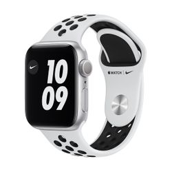Apple Watch Series 6 Nike+ 40mm Silver Pure Platinum/Black Sportband
