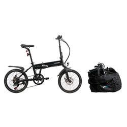 Blaupunkt Carl290 Aναδιπλούμενο Ηλεκτρικό Ποδήλατο & Τσάντα Μεταφοράς