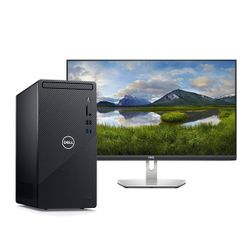 "Dell  Inspiron 3881 i3-10100/8GB/1TB PC & S2721HN 27"" IPS 75Hz Monitor"